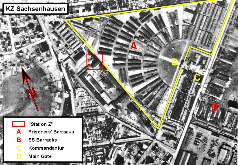 Kz Sachsenhausen Aufbau